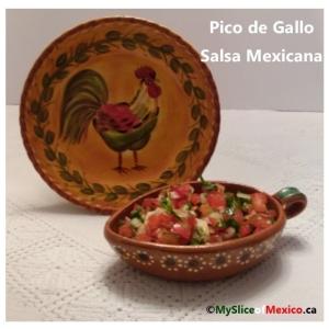 Pico de Gallo Salsa Mexicana