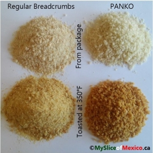 bread crumbs with logo