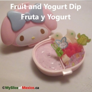 fruit and dip cover