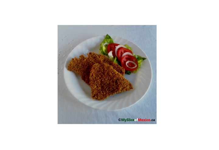 A Golden-Brown, Crispy, and Oil Free Baked Breaded Cutlet