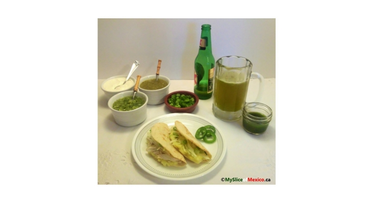 St. Patrick's Day Special – Colcannon Quesadillas, Green Sauces and Green Mexican Beer