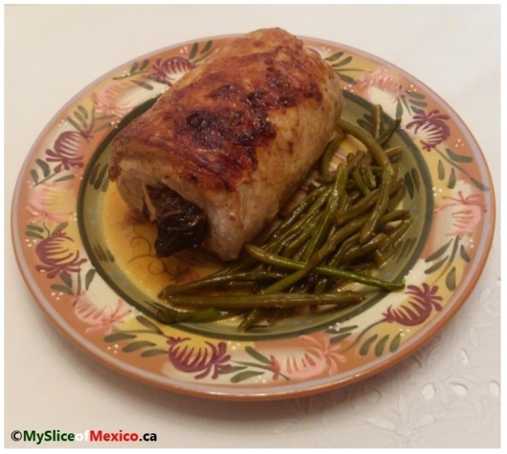 Stuffed pork roast 9
