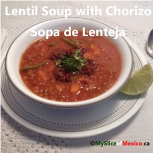 11 lentil soup with chorizo cover