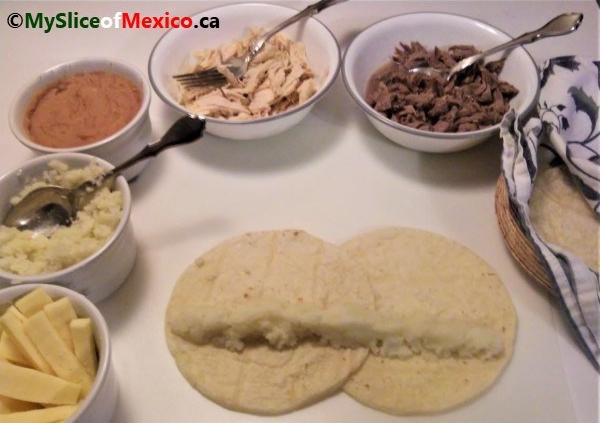 All ingredients for flautas My Slice of Mexico