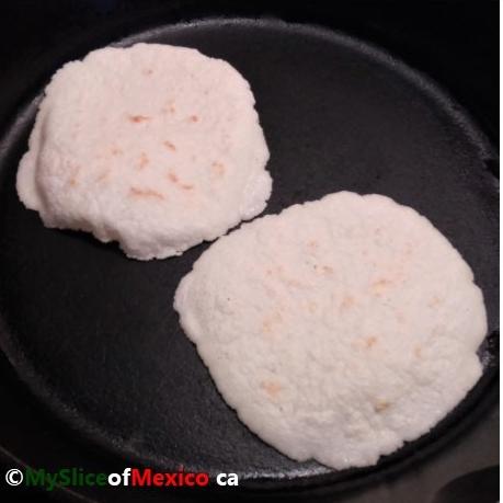 White PAN skillet My Slice of Mexico