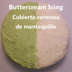 Buttercream icing My slice of Mexico