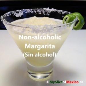Non-alcoholic Margarita cover my slice of mexico