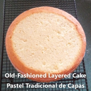 Old fashioned layered cake My slice of Mexico