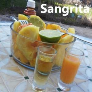 pico de gallo salad with tequila and sangrita My slice of Mexico