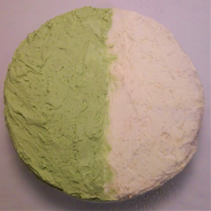 tres leches and matcha cake