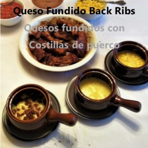 Queso fundido Back Ribs My Slice of Mexico