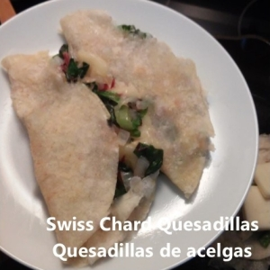 swiss chard quesadillas cover