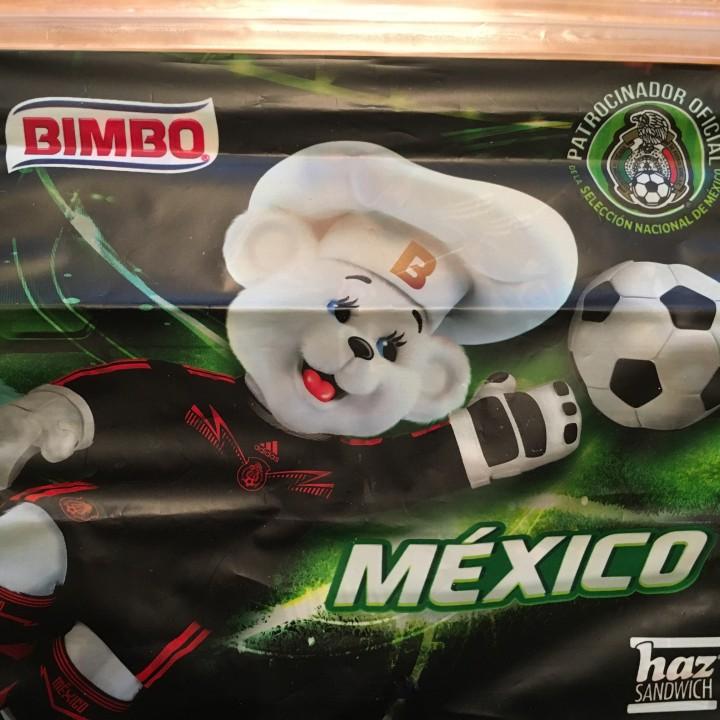Osito Bimbo Futbol 2