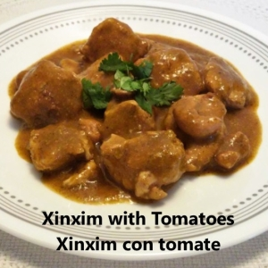 xinxim with tomatoes cover
