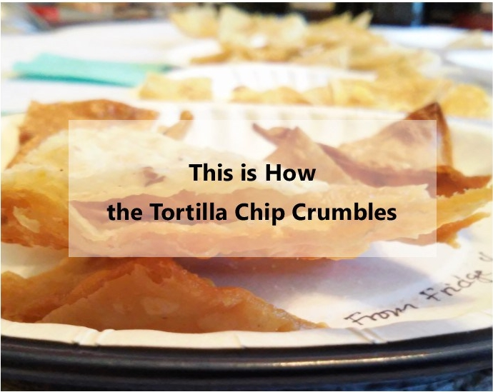 irene's lab This is how the tortilla chip crumbles