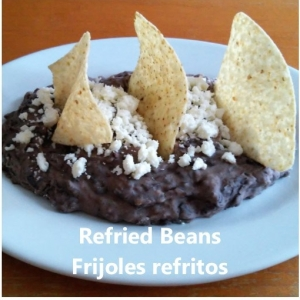refried beans my slice of mexico
