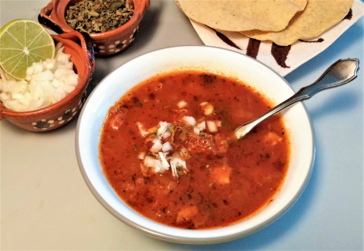 Menudo – A Hearty Soup before the Parade!