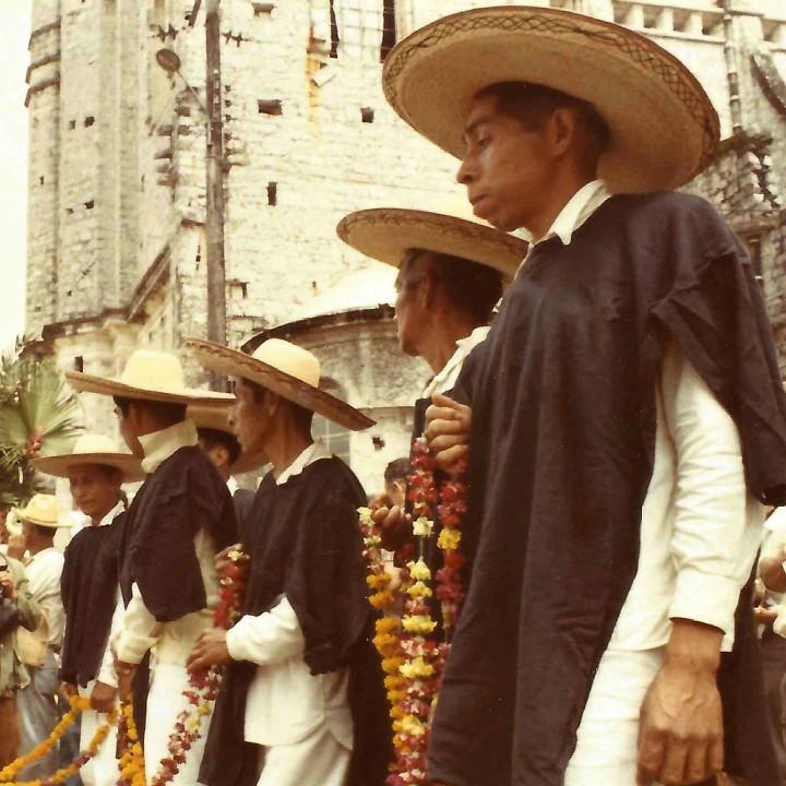 sombrero de paja Puebla 1971