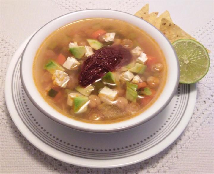 005 vegetarian Tlalpan soup