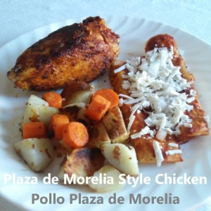 Pollo Plaza de Morelia recipe cover