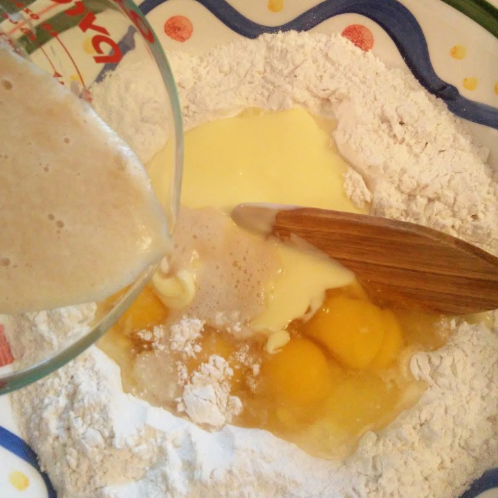 003 add ingredients to flour