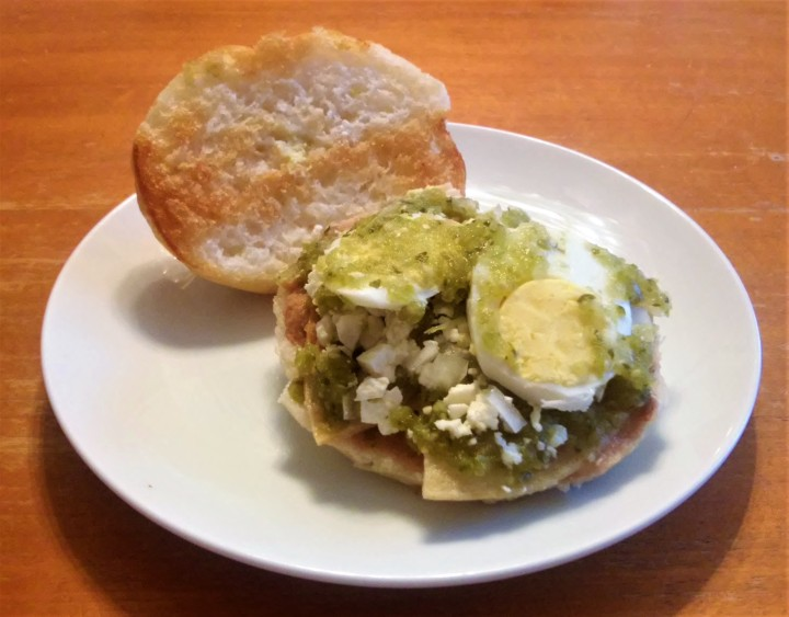 Guajolotitos – My take on a Classic Sandwich