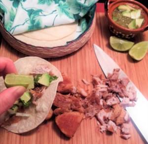 chopped carnitas