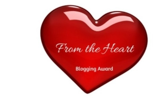 From the Heart – Blogging Award