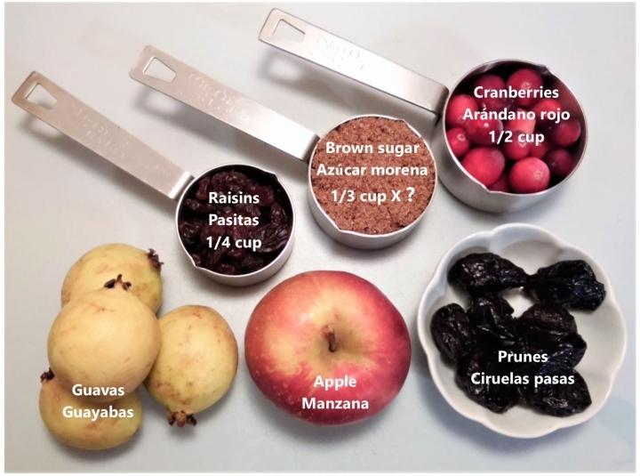 002 fruta y azucar