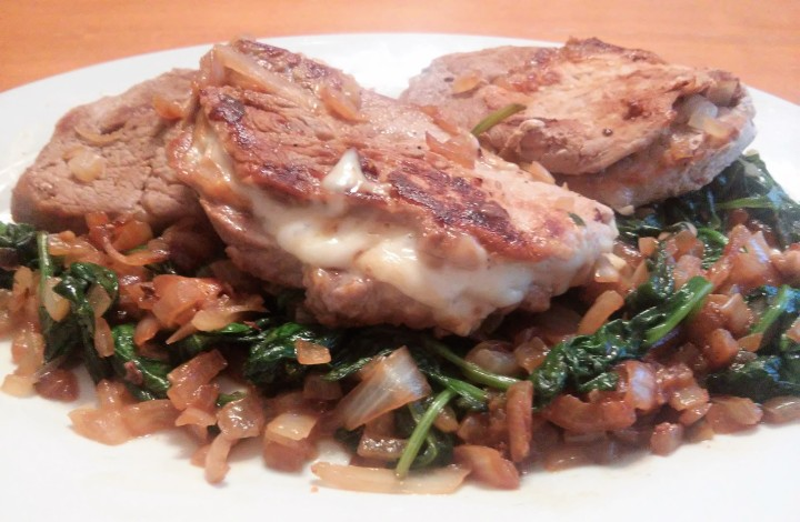 Stuffed Pork Chops – A Midweek Main Course