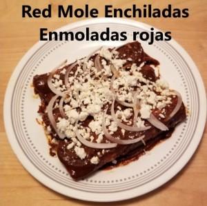 enchiladas de mole cover