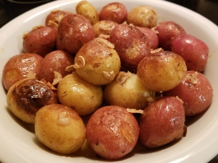 Baby Potatoes in Garlic Sauce – Papitas al ajillo