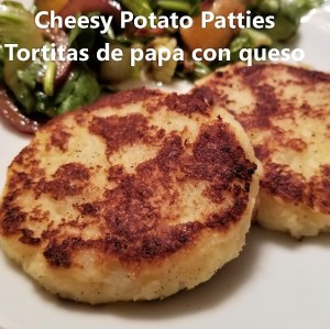 cheesy potato patties