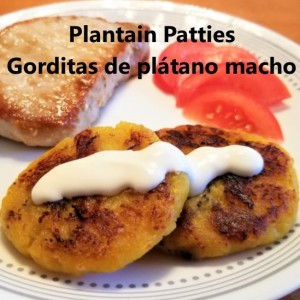 Plantain patties