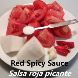 spicy red sauce