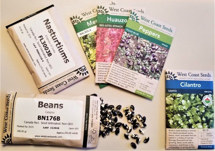 My New Seeds Have Arrived!