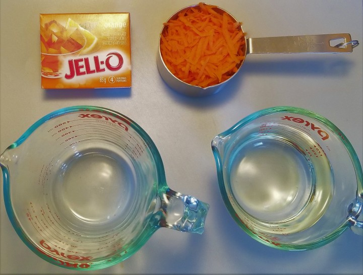 001 orange with carrot jello ingredients
