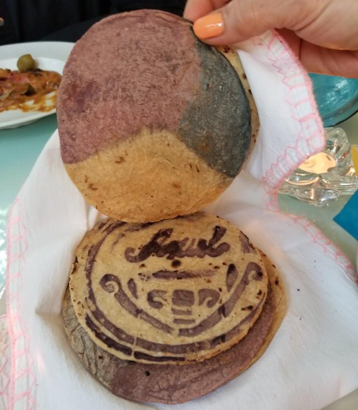 artisanal tortillas Azul Condesa