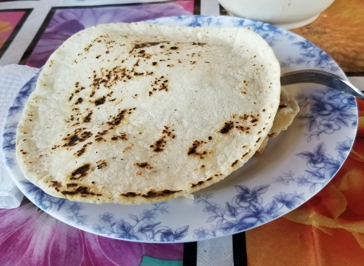 freshly made tortilla 2019
