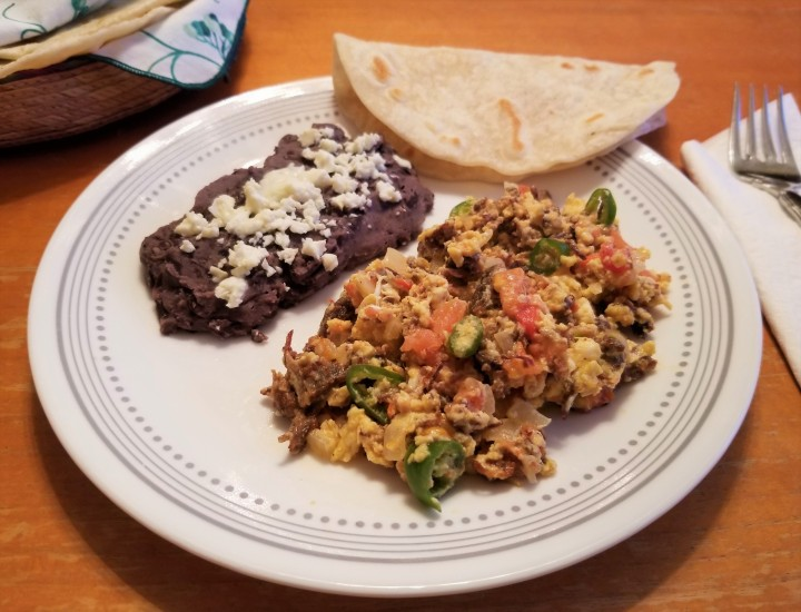 Homemade Machaca