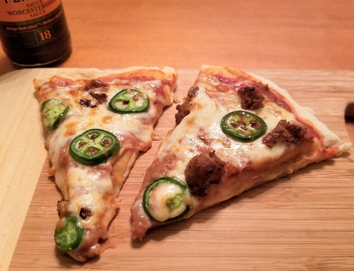 Mexican Style Pizza – The Full Circle