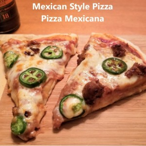 Mexican Style Pizza