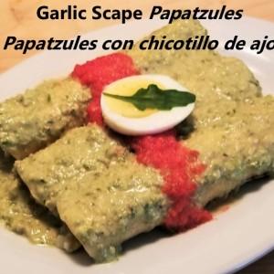 Garlic Scape Papatzules