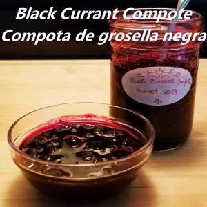 Black Currant Compote recipe