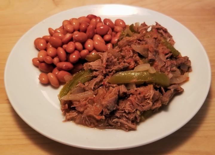 Deshebrada – Shredded Beef with PepperStrips