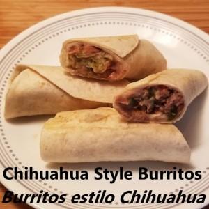 Chihuahua Style Burritos