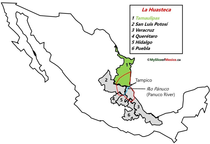 La Huasteca, Tampico, Tamaulipas and Panuco River. My Slice of Mexico