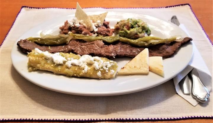 Carne Asada a la Tampiqueña – A Spirited Mexican SteakPlatter