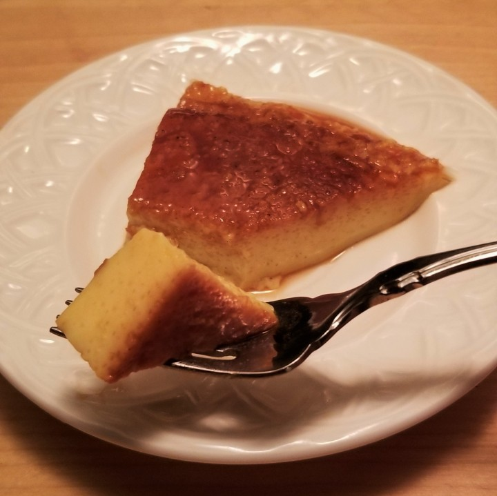 Custard with Caramel – Flan