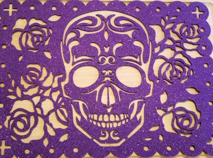 026 Day of the Dead skull